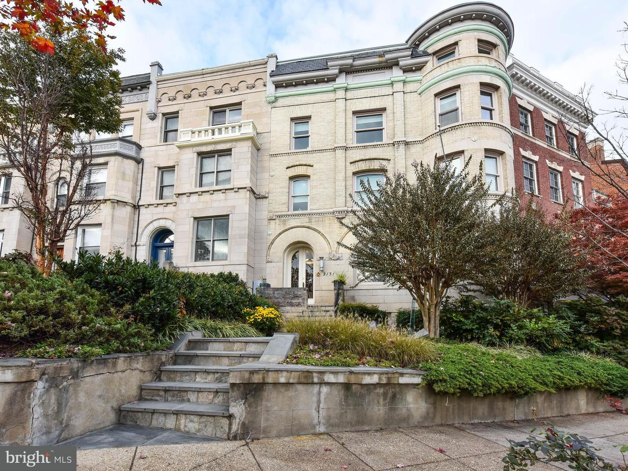Single Family for Sale at 2131 S St NW Washington, District Of Columbia 20008 United States