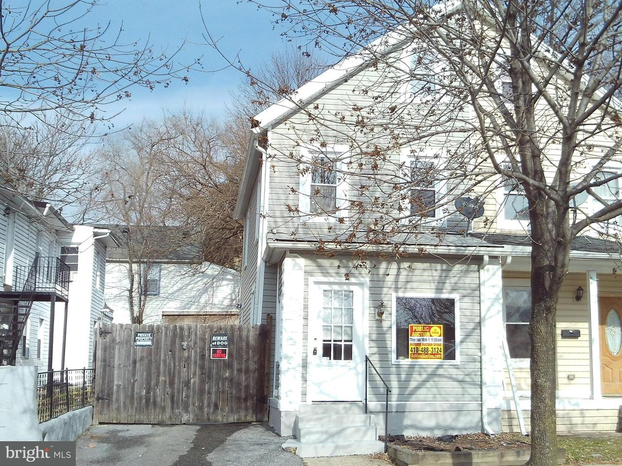 Single Family for Sale at 404 Venable Ave Baltimore, Maryland 21218 United States