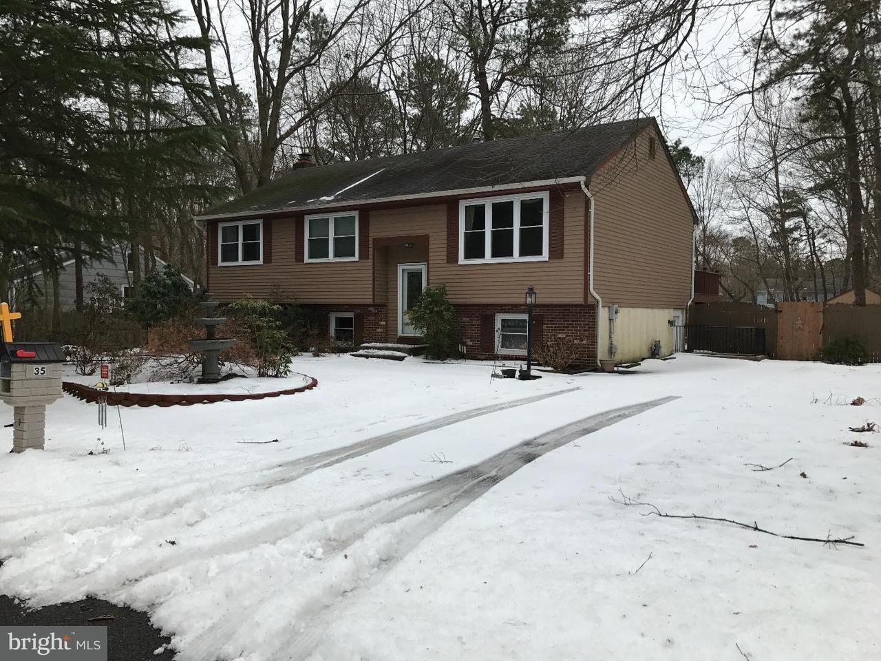 Maison unifamiliale pour l Vente à 35 BIRCHWOOD WAY Gibbsboro, New Jersey 08026 États-Unis
