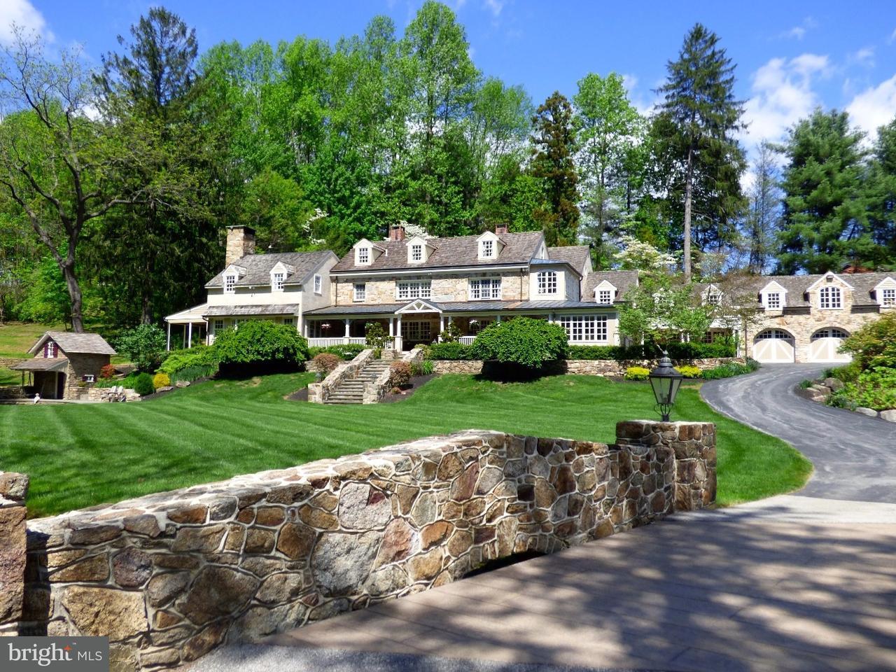 Maison unifamiliale pour l Vente à 635 FONT Road Glenmoore, Pennsylvanie 19343 États-Unis