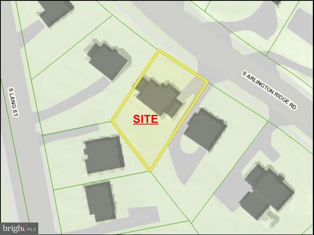 土地 のために 売買 アット 2710 ARLINGTON RIDGE Road 2710 ARLINGTON RIDGE Road Arlington, バージニア 22202 アメリカ合衆国