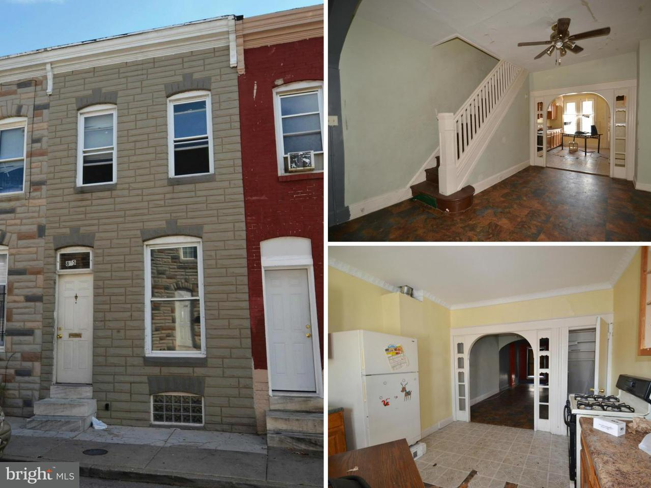 Single Family for Sale at 805 Port St Baltimore, Maryland 21205 United States