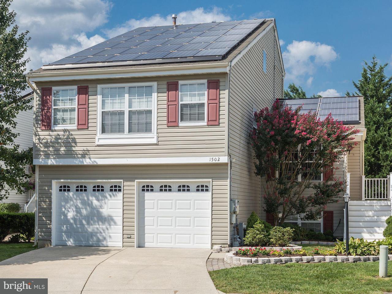 Maison unifamiliale pour l Vente à 1502 SHADYWOOD Court 1502 SHADYWOOD Court Crofton, Maryland 21114 États-Unis