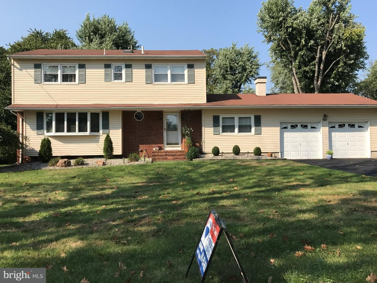 Single Family Home for Sale at 614 DUTCH NECK Road East Windsor Township, New Jersey 08520 United StatesMunicipality: East Windsor Township