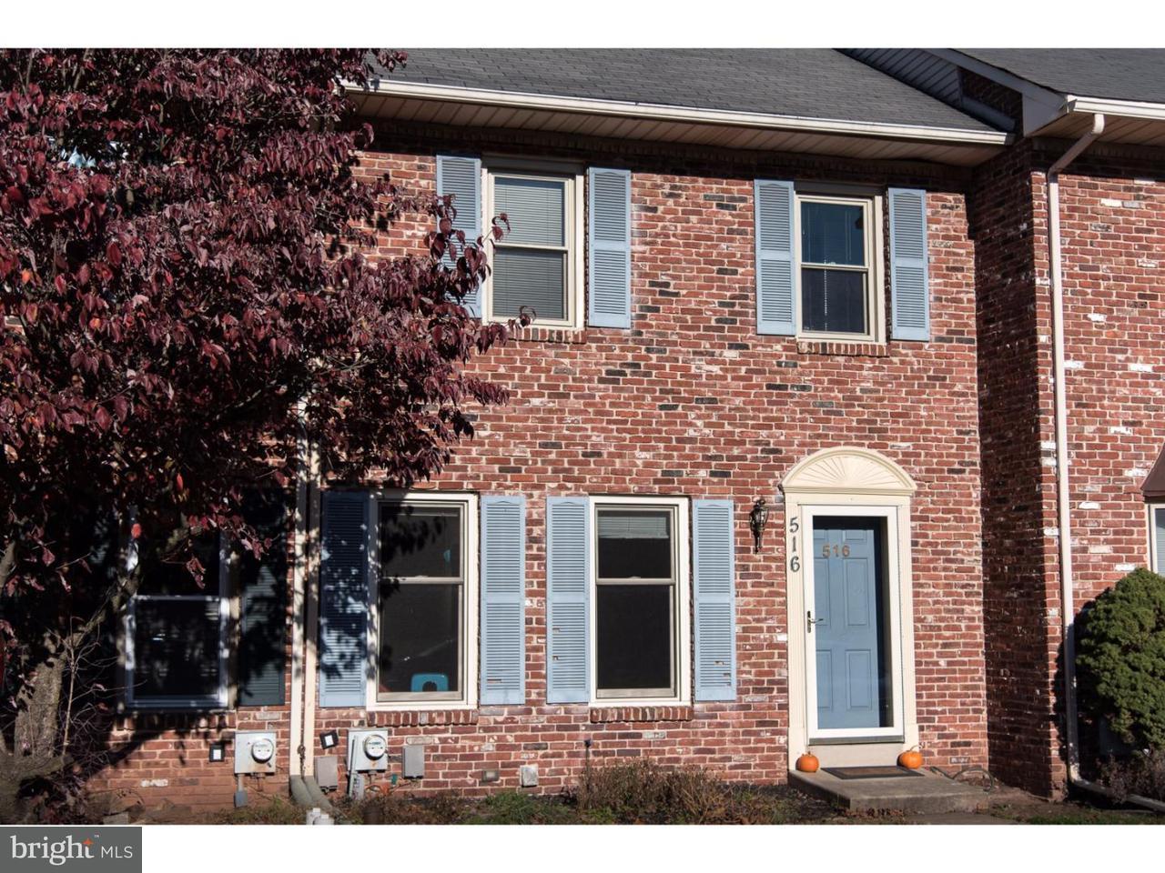 Casa unifamiliar adosada (Townhouse) por un Alquiler en 516 SUSAN Drive King Of Prussia, Pennsylvania 19406 Estados Unidos