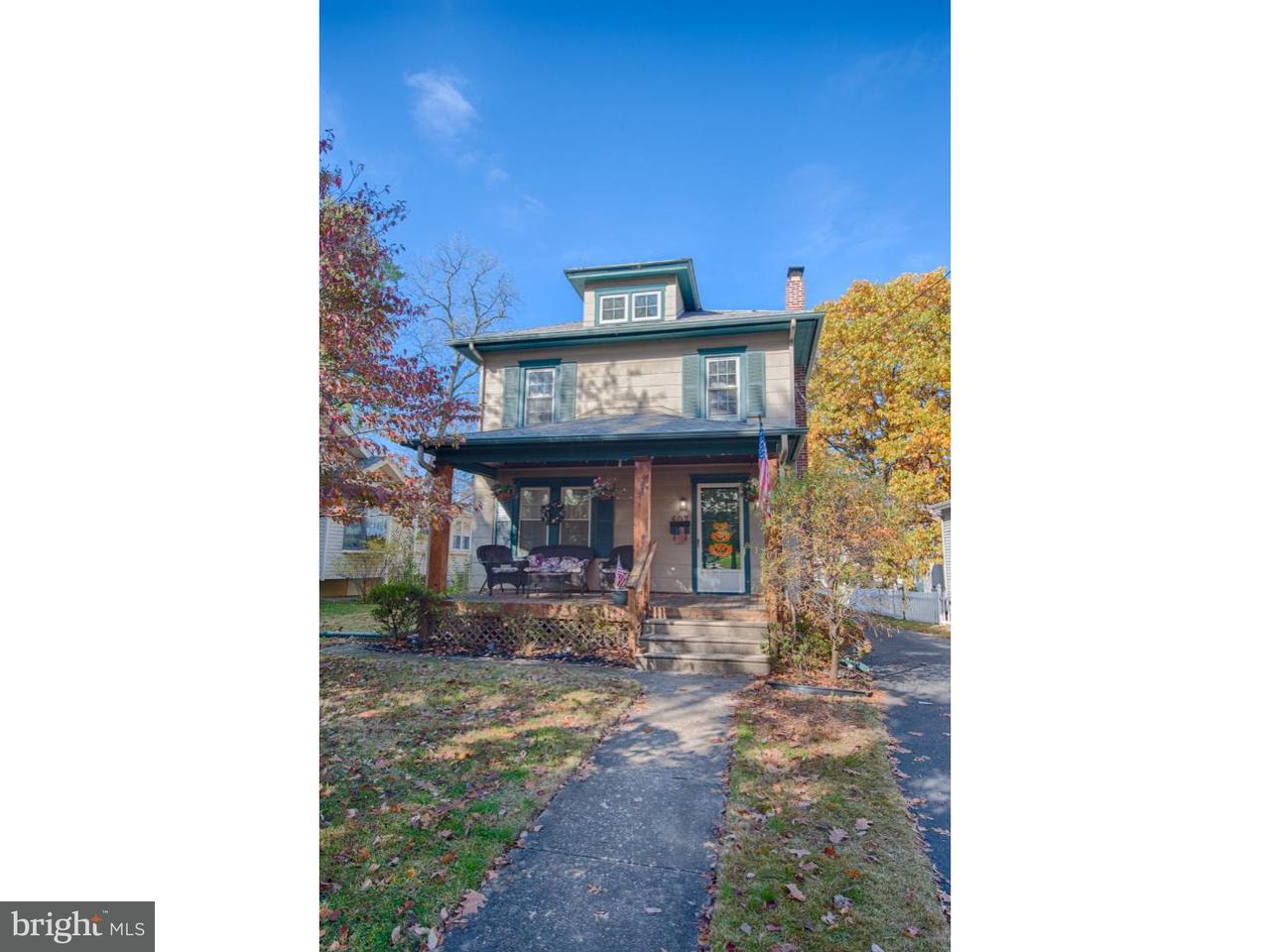 独户住宅 为 销售 在 607 TATEM Avenue Westmont, 新泽西州 08108 美国