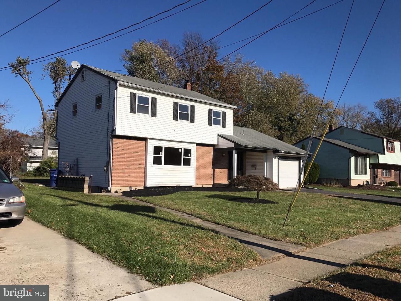 Tek Ailelik Ev için Satış at 203 CARDINAL Road Beverly, New Jersey 08010 Amerika Birleşik Devletleri