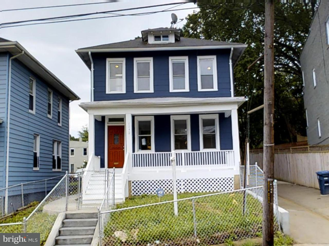 Single Family for Sale at 2242 Mount View Pl SE Washington, District Of Columbia 20020 United States