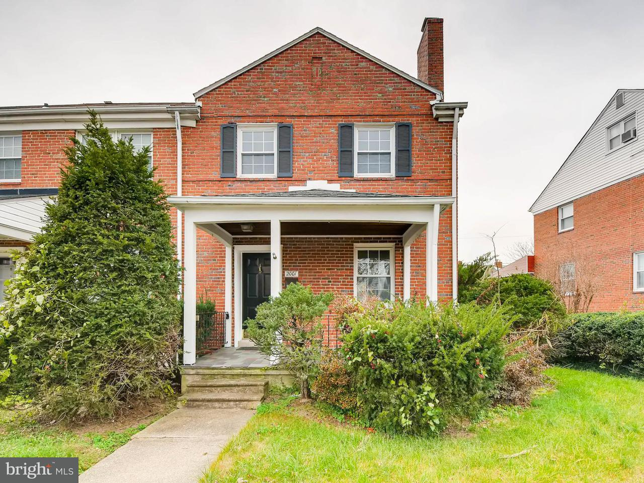 Single Family for Sale at 2001 Northbourne Rd Baltimore, Maryland 21239 United States