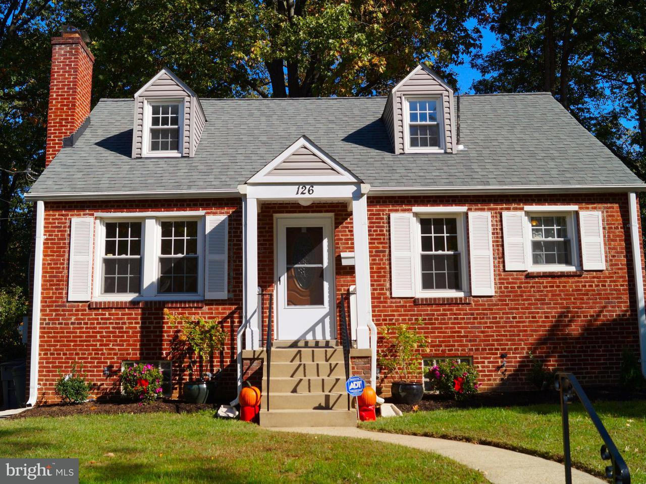 Single Family Home for Sale at 126 LYNNMOOR Drive 126 LYNNMOOR Drive Silver Spring, Maryland 20901 United States