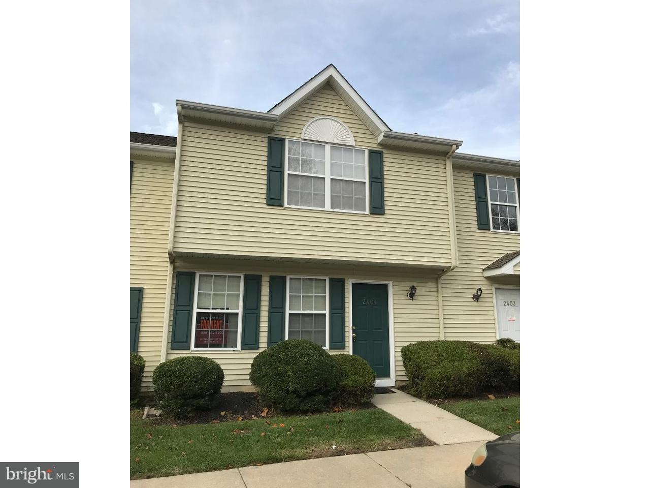 Townhouse for Rent at 2404 TALL PNES Pine Hill, New Jersey 08021 United States