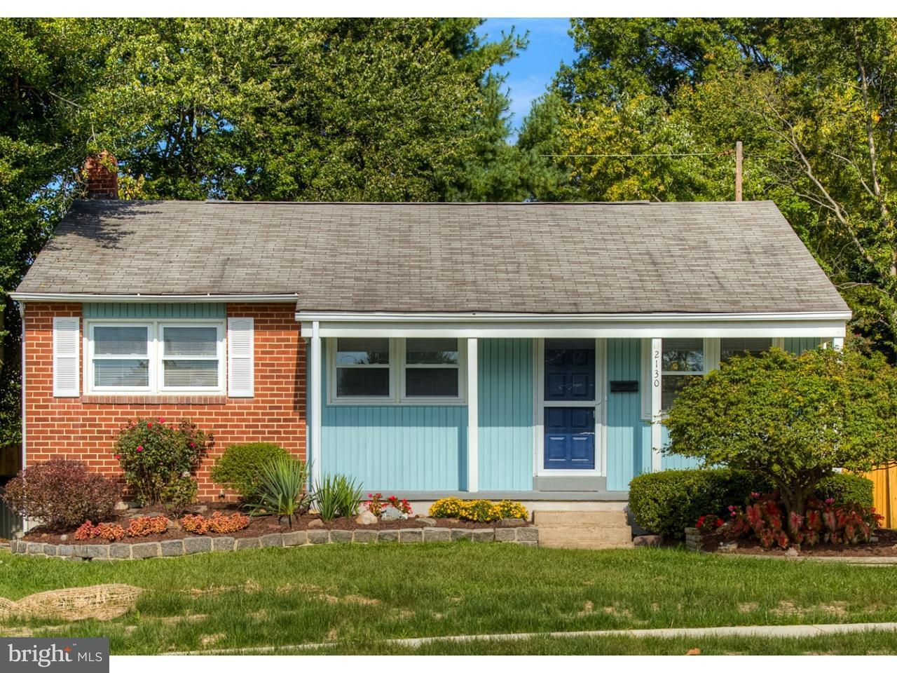 Частный односемейный дом для того Продажа на 2130 CAROL Drive Wilmington, Делавэр 19808 Соединенные Штаты