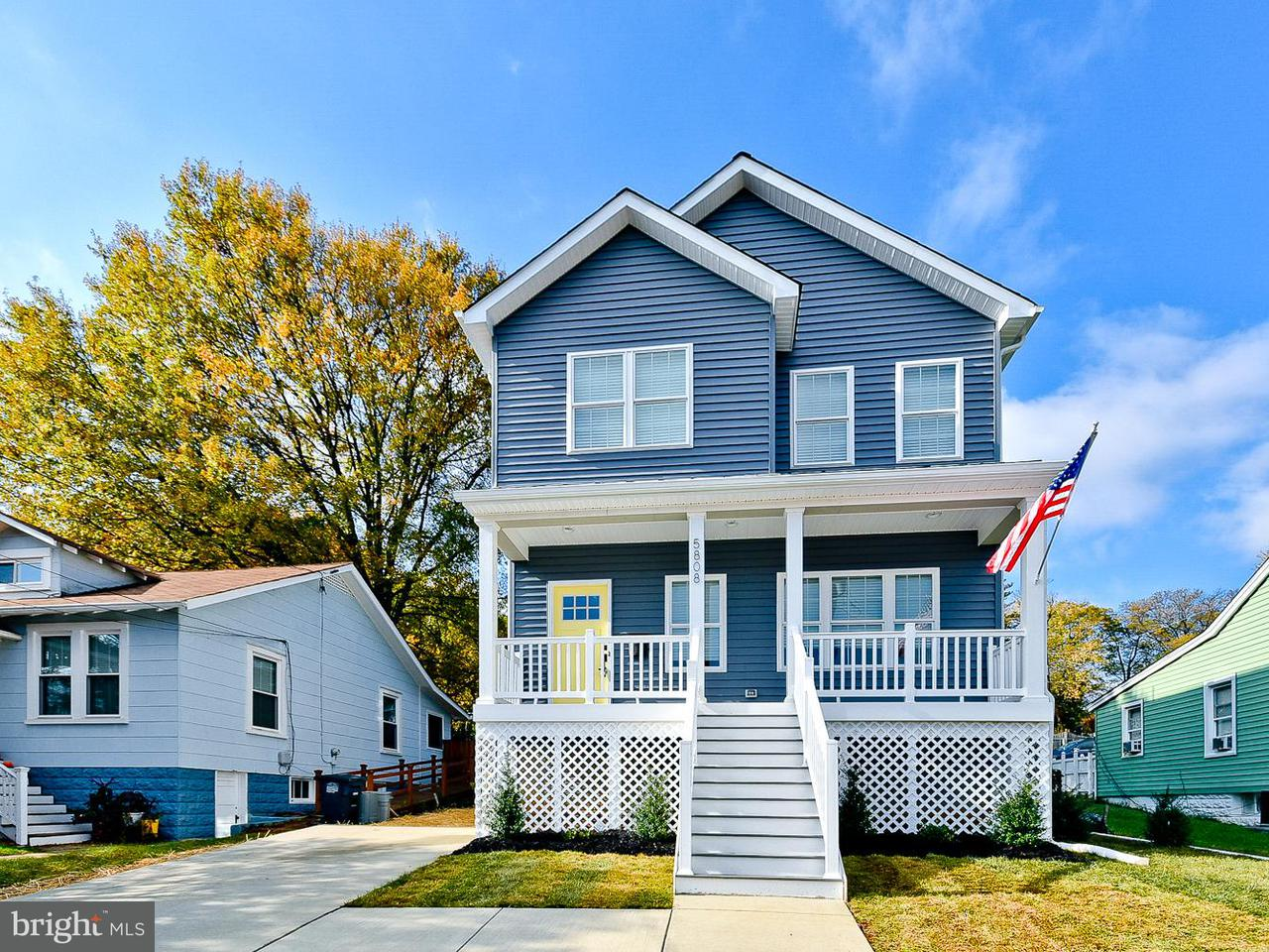 独户住宅 为 销售 在 5808 43RD Avenue 5808 43RD Avenue Hyattsville, 马里兰州 20781 美国