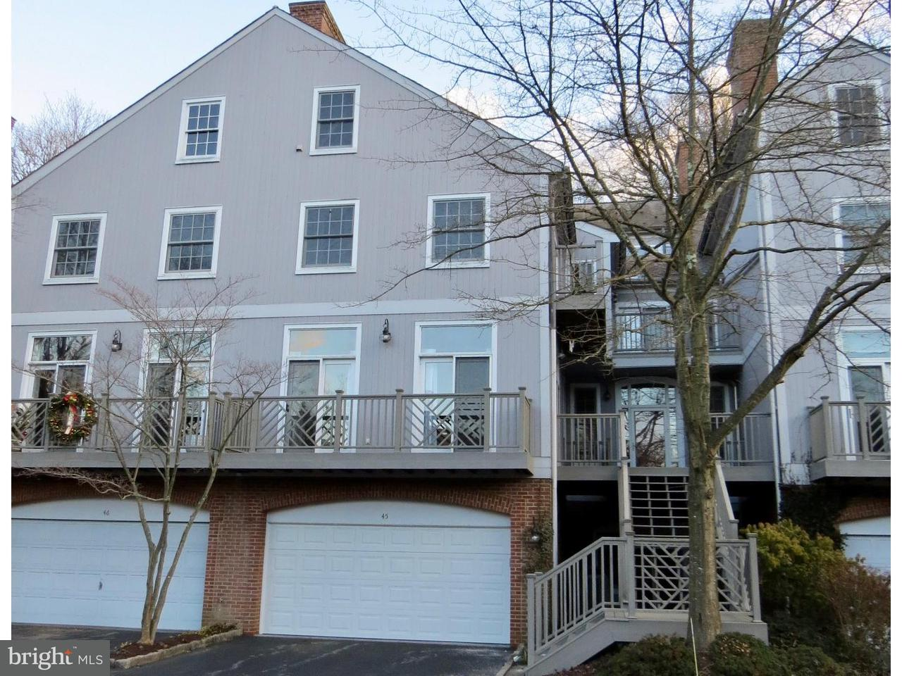 Townhouse for Sale at 45 MILLSTONE Lane Rockland, Delaware 19732 United States