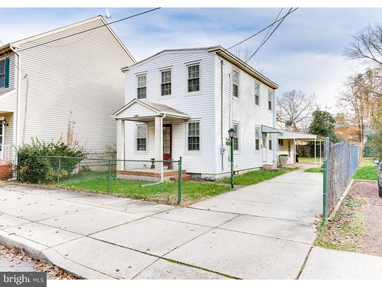 Single Family Home for Rent at 64 MARY Street Bordentown, New Jersey 08505 United States