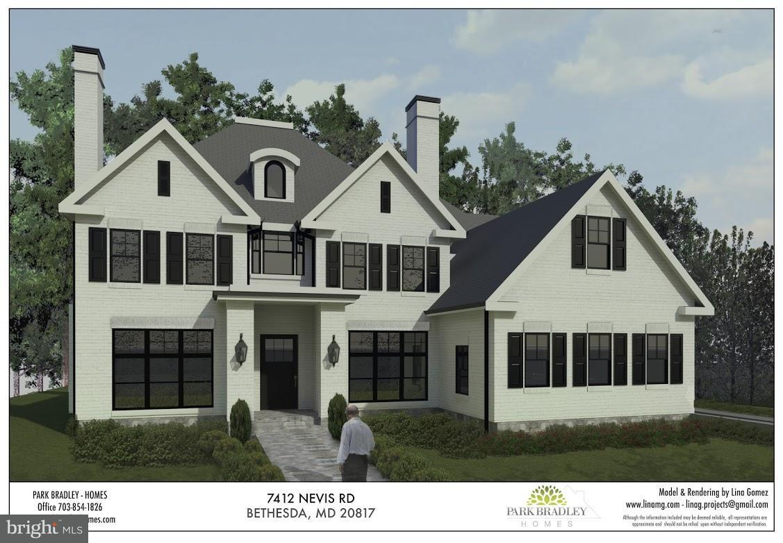 Single Family Home for Sale at 7412 NEVIS Road 7412 NEVIS Road Bethesda, Maryland 20817 United States