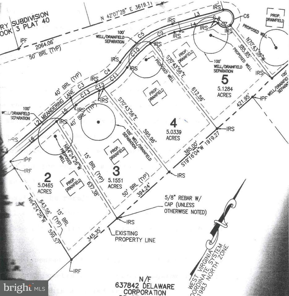 Land for Sale at 2 Meandering Lane Kearneysville, West Virginia 25430 United States