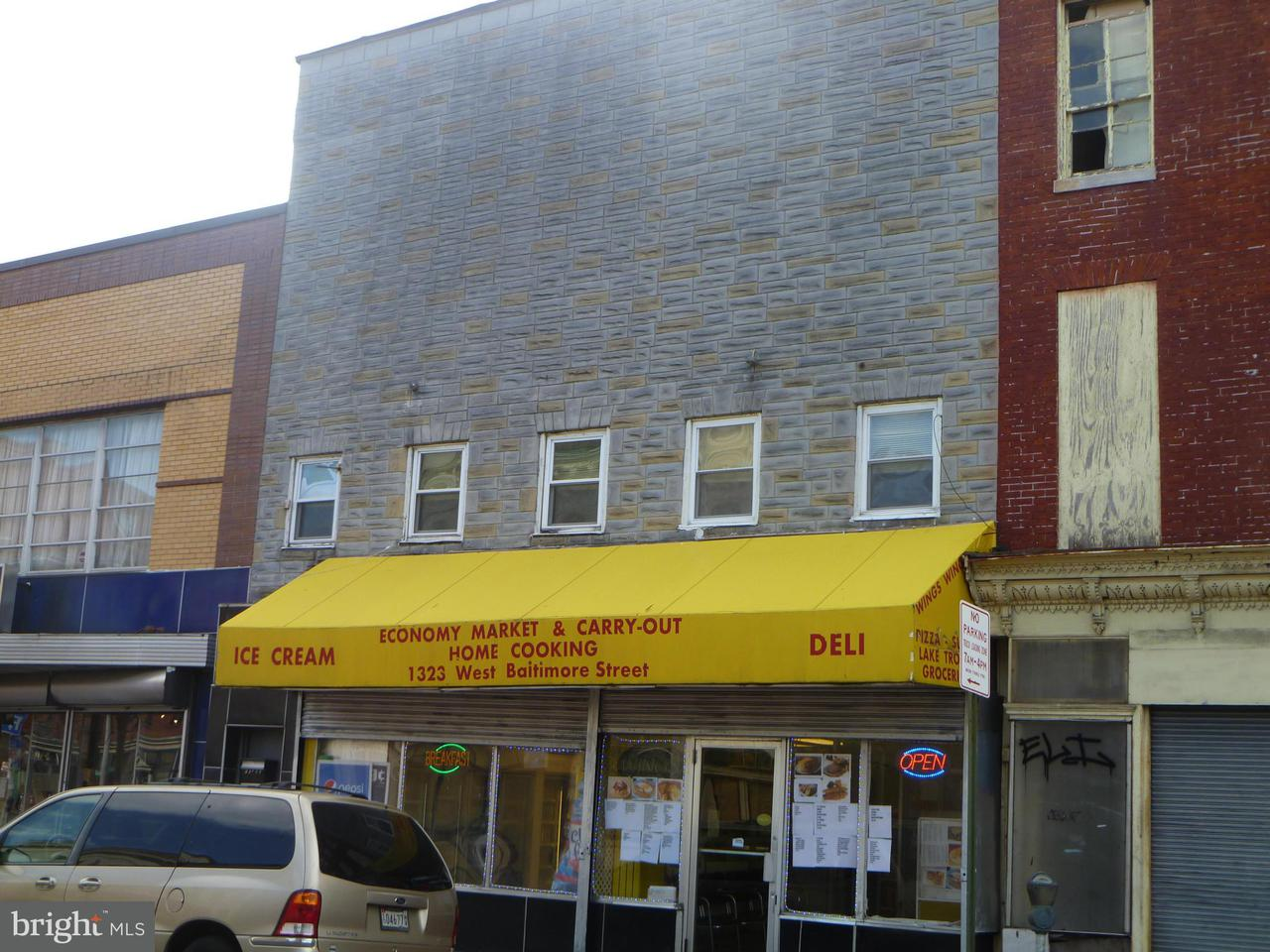 Commercial for Sale at 1323 Baltimore St Baltimore, Maryland 21223 United States