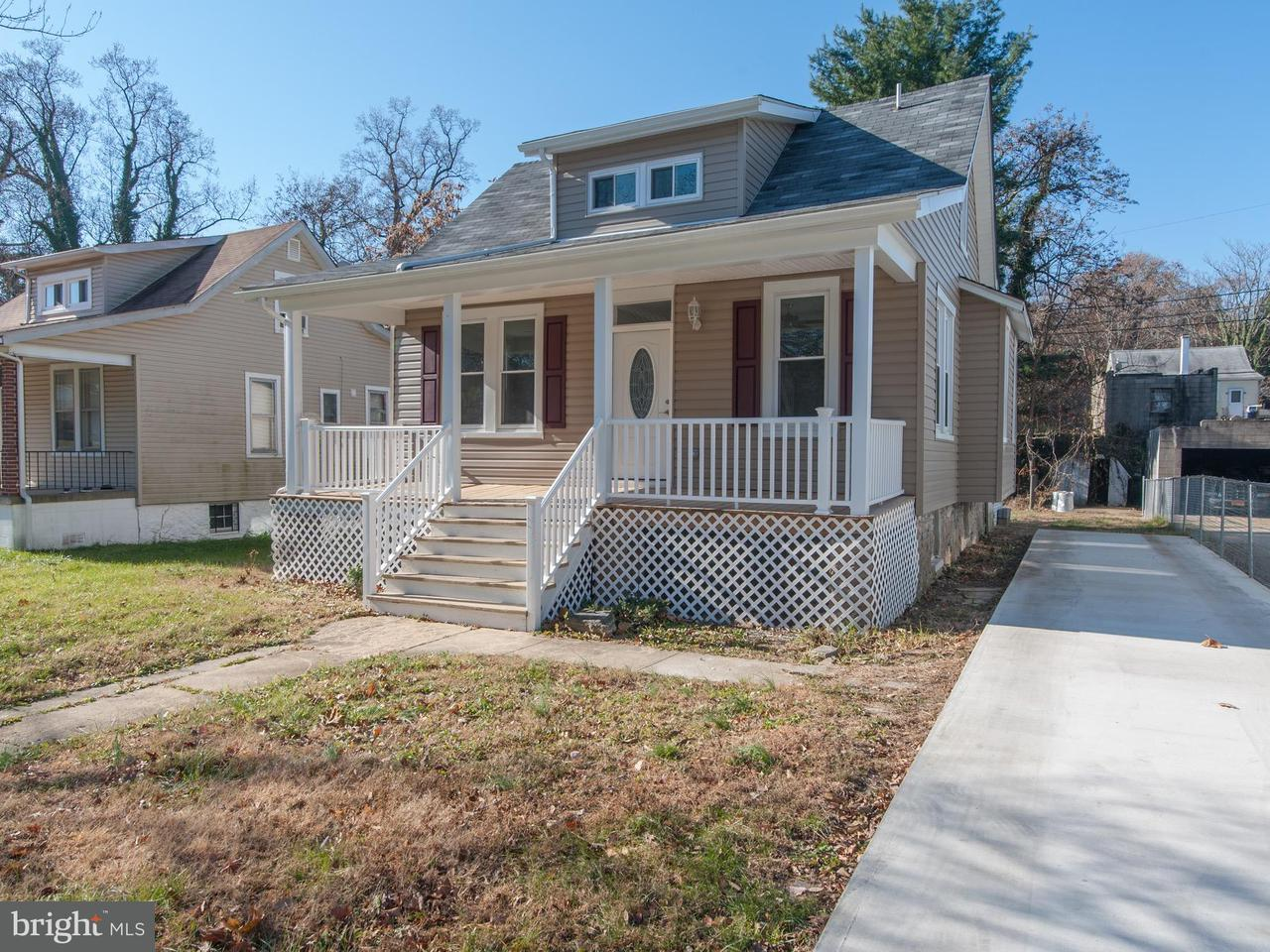 Single Family for Sale at 2717 Overland Ave Baltimore, Maryland 21214 United States