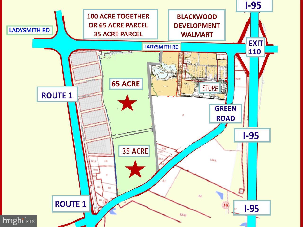土地 為 出售 在 Ladysmith Road Ladysmith Road Ruther Glen, 弗吉尼亞州 22546 美國