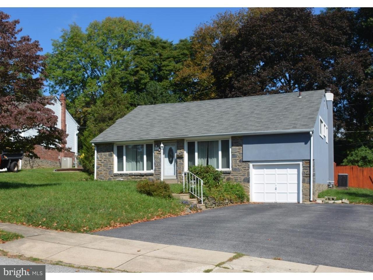 Частный односемейный дом для того Аренда на 2217 RHONDA Road Broomall, Пенсильвания 19008 Соединенные Штаты