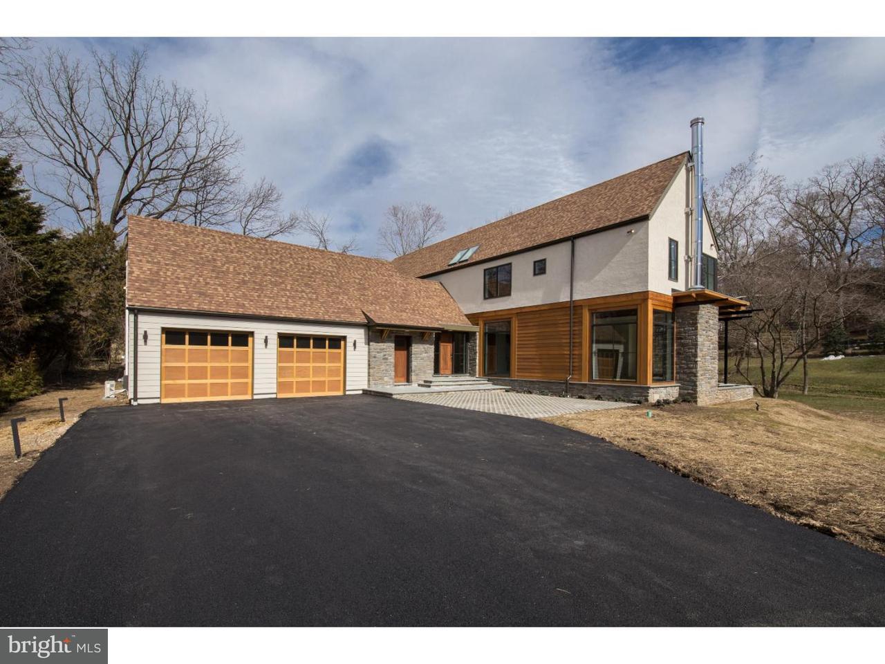 Частный односемейный дом для того Продажа на 8911 MONTGOMERY Avenue Glenside, Пенсильвания 19038 Соединенные Штаты