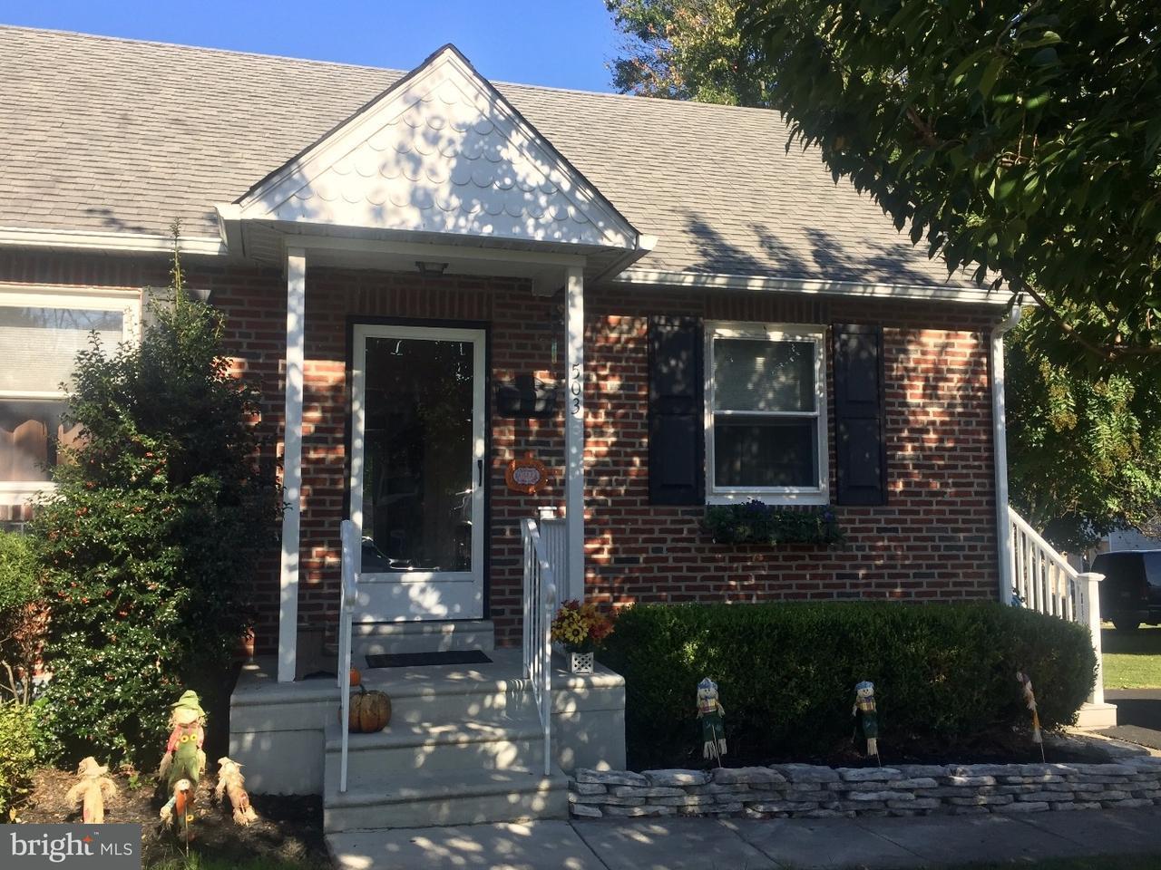 Частный односемейный дом для того Продажа на 503 CRUMLYNNE Road Ridley Park, Пенсильвания 19078 Соединенные Штаты