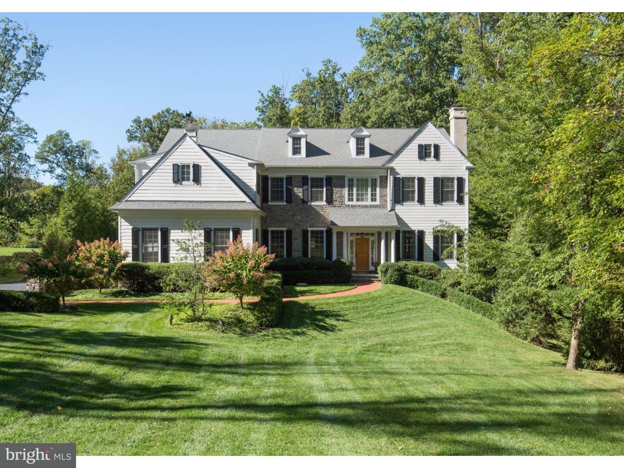 Частный односемейный дом для того Продажа на 1633 MAPLE Avenue Tredyffrin, Пенсильвания 19301 Соединенные Штаты