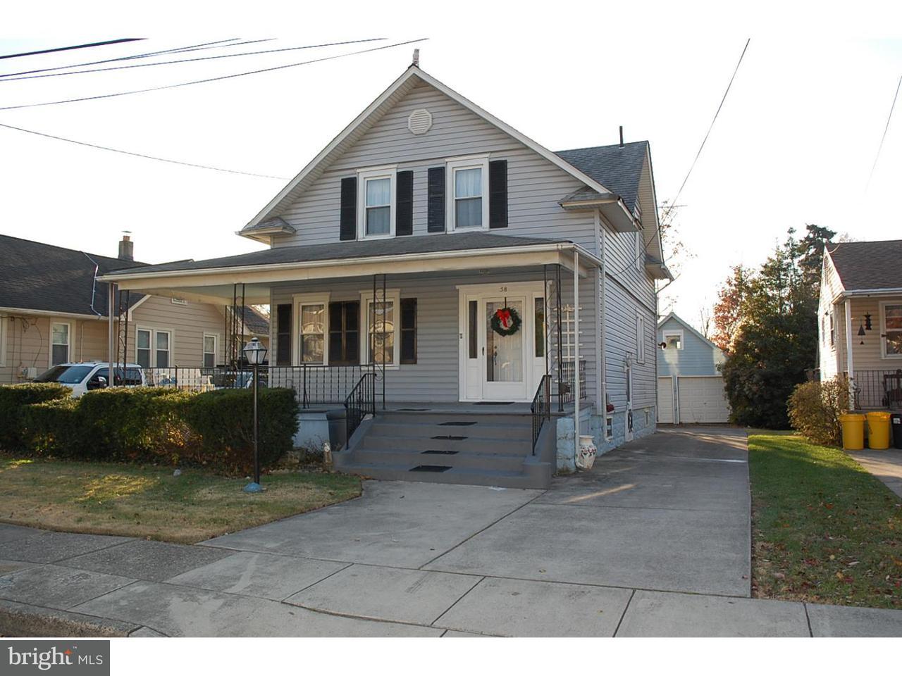 Частный односемейный дом для того Продажа на 58 PAYSON Avenue Audubon, Нью-Джерси 08106 Соединенные Штаты