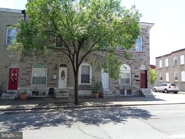 Single Family for Sale at 2425 Madison St Baltimore, Maryland 21205 United States