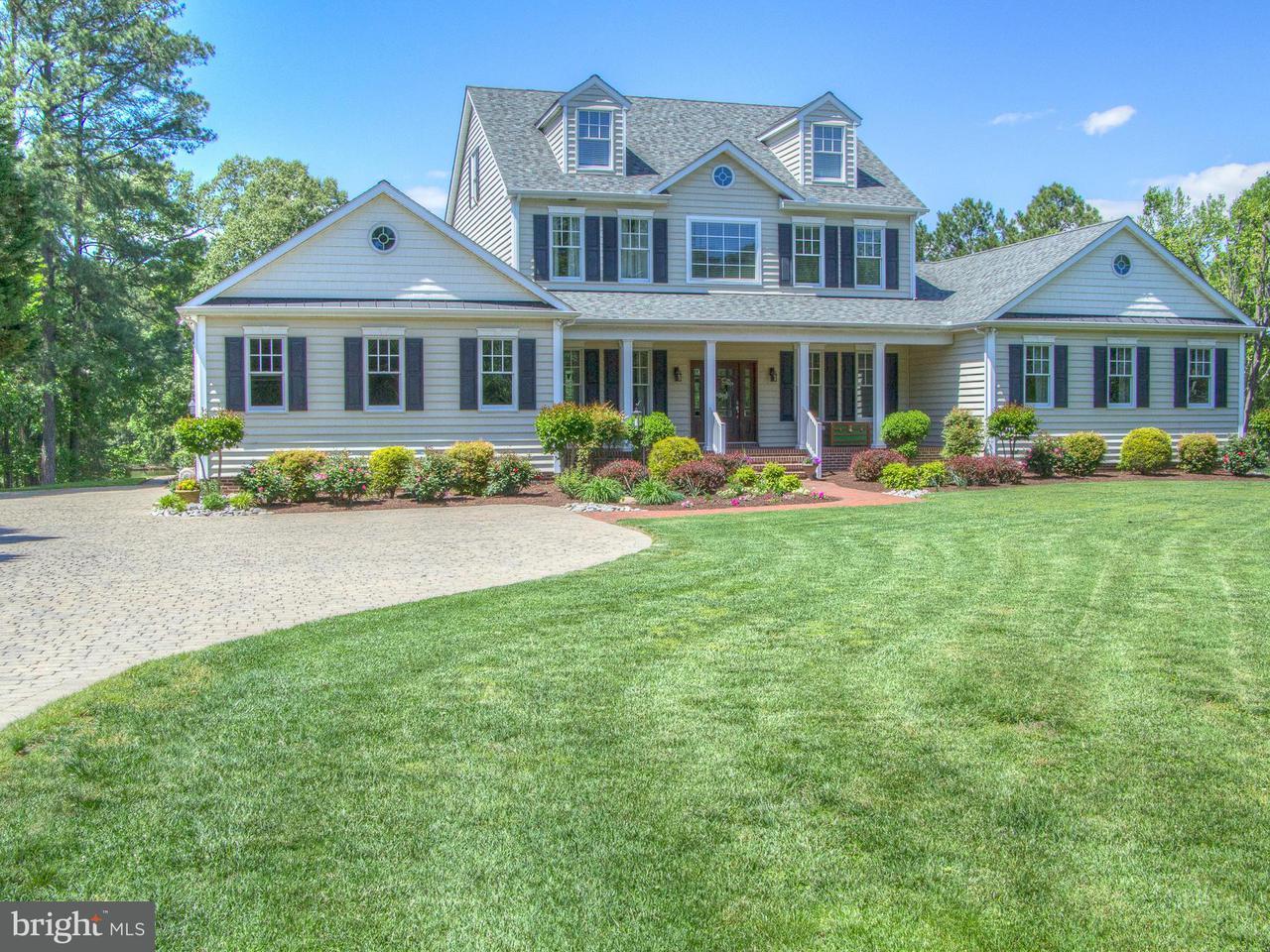 Maison unifamiliale pour l Vente à 28182 Oaklands Road 28182 Oaklands Road Easton, Maryland 21601 États-Unis