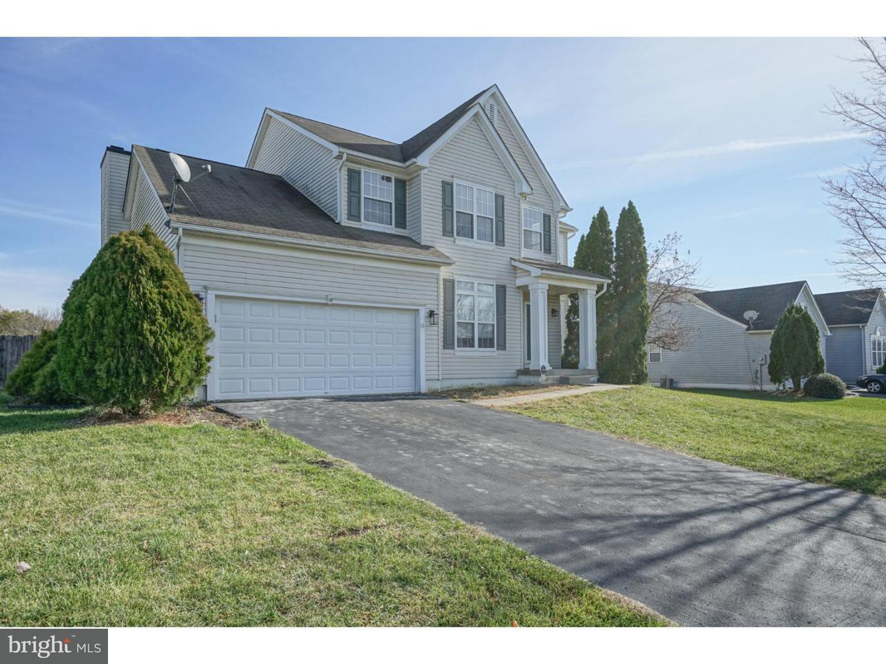 Single Family Home for Sale at 10 QUINCY MANOR Lane Burlington Township, New Jersey 08016 United States