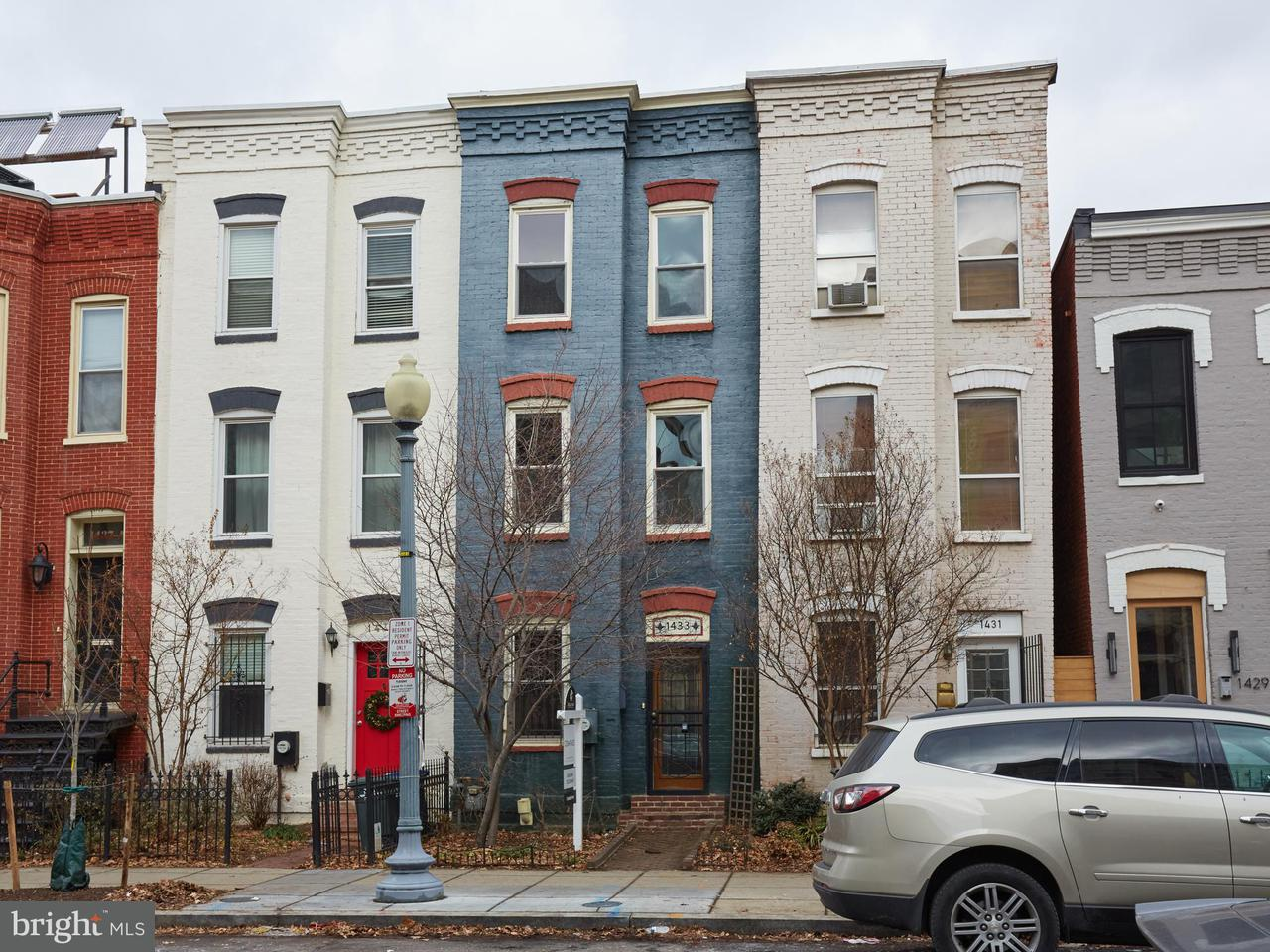 Townhouse for Sale at 1433 W ST NW 1433 W ST NW Washington, District Of Columbia 20009 United States