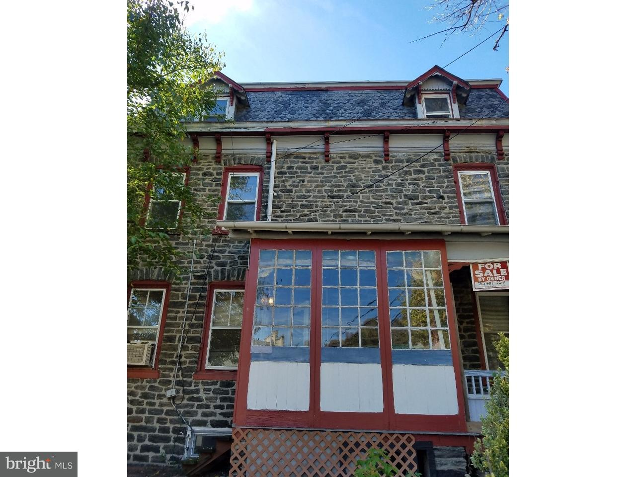 Townhouse for Sale at 601 FORD Street Conshohocken, Pennsylvania 19428 United States