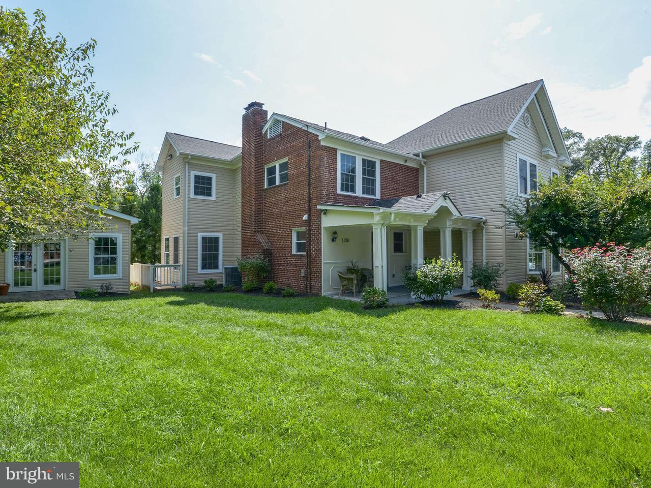 Maison unifamiliale pour l Vente à 1201 JACKSON Avenue 1201 JACKSON Avenue Takoma Park, Maryland 20912 États-Unis