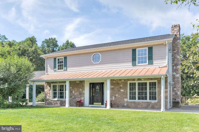 Ferme pour l Vente à 19 HICKERSON MTN Lane 19 HICKERSON MTN Lane Flint Hill, Virginia 22627 États-Unis