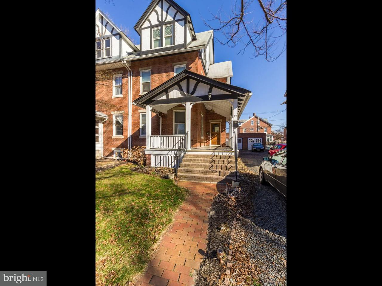 Townhouse for Sale at 12 6TH Avenue Roebling, New Jersey 08554 United States