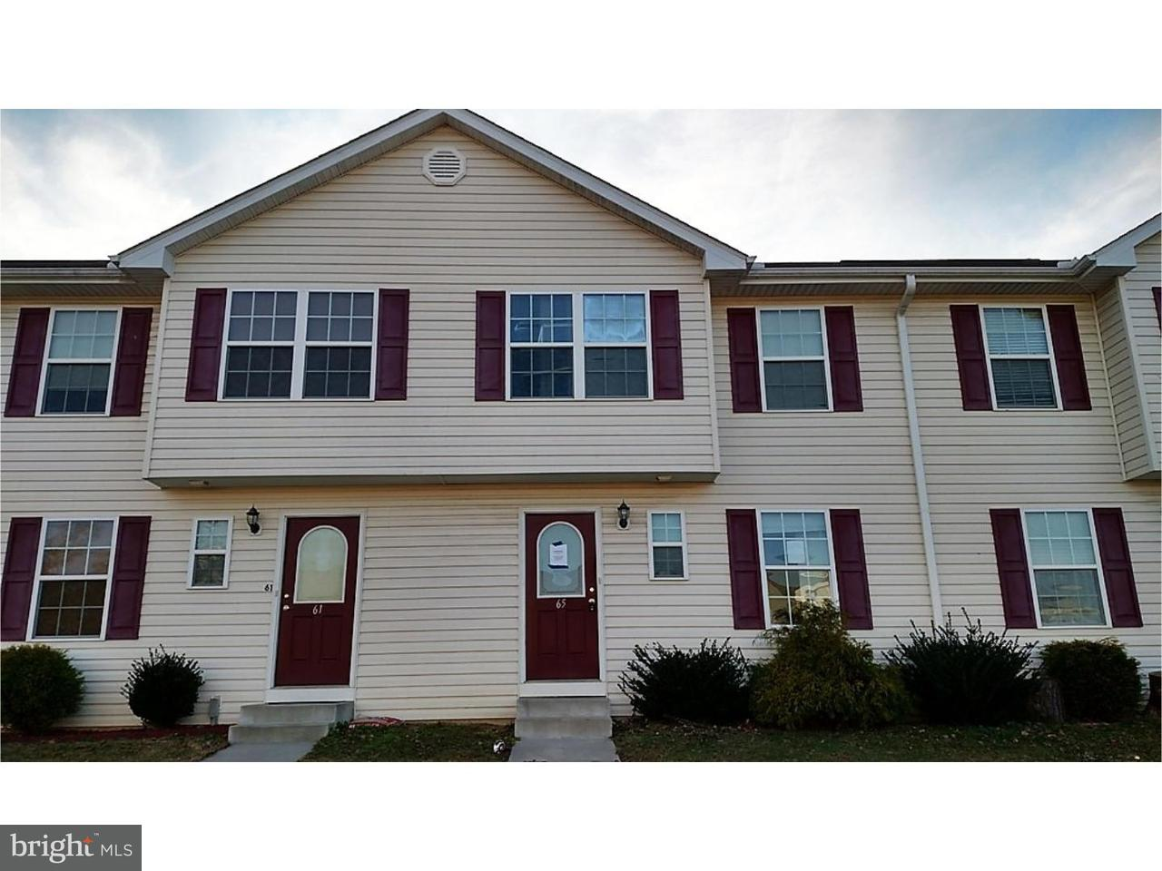 Townhouse for Sale at 65 MEDAL WAY Magnolia, Delaware 19962 United States