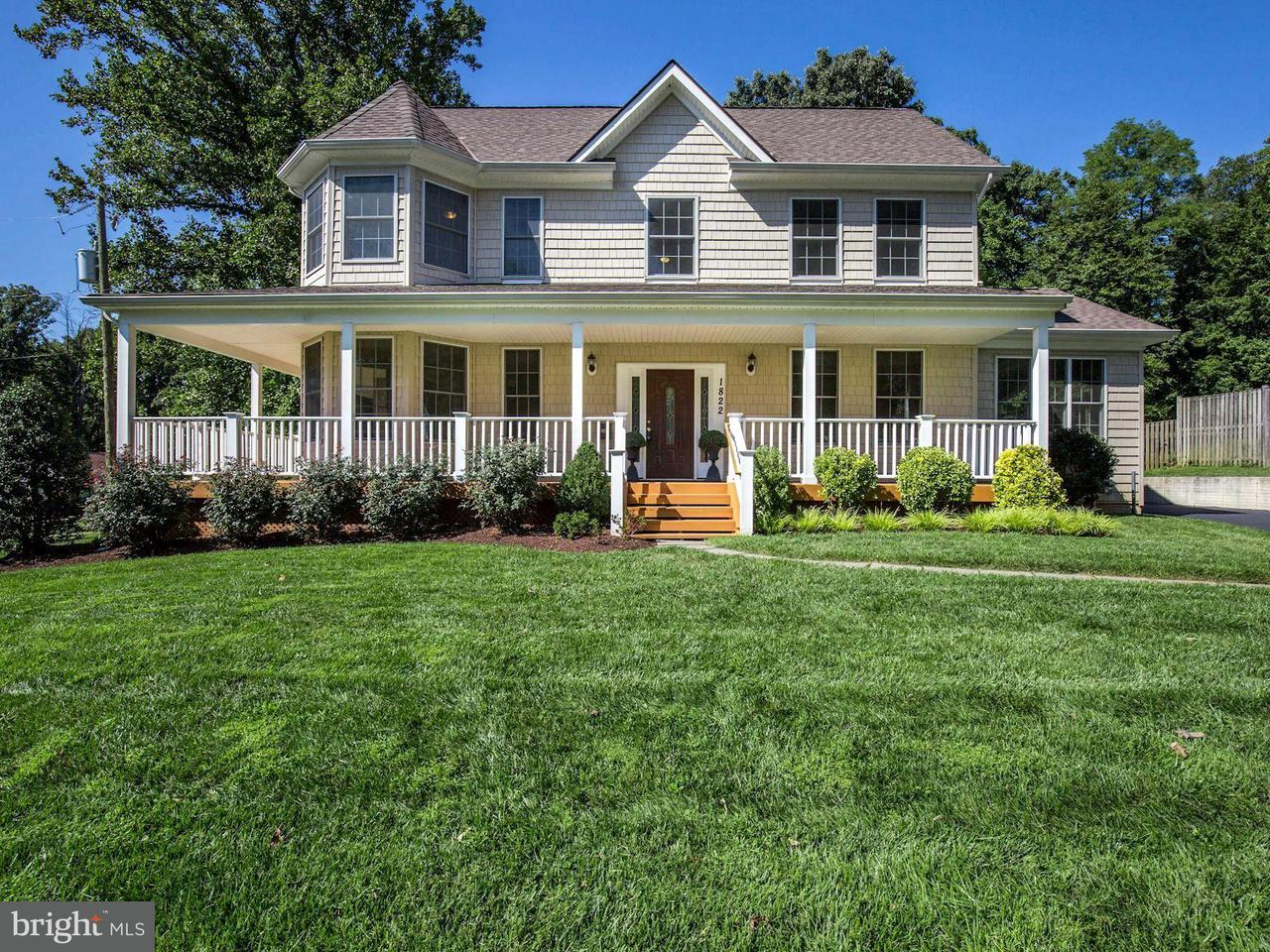 Single Family Home for Sale at 1822 ANDERSON Road 1822 ANDERSON Road Falls Church, Virginia 22043 United States