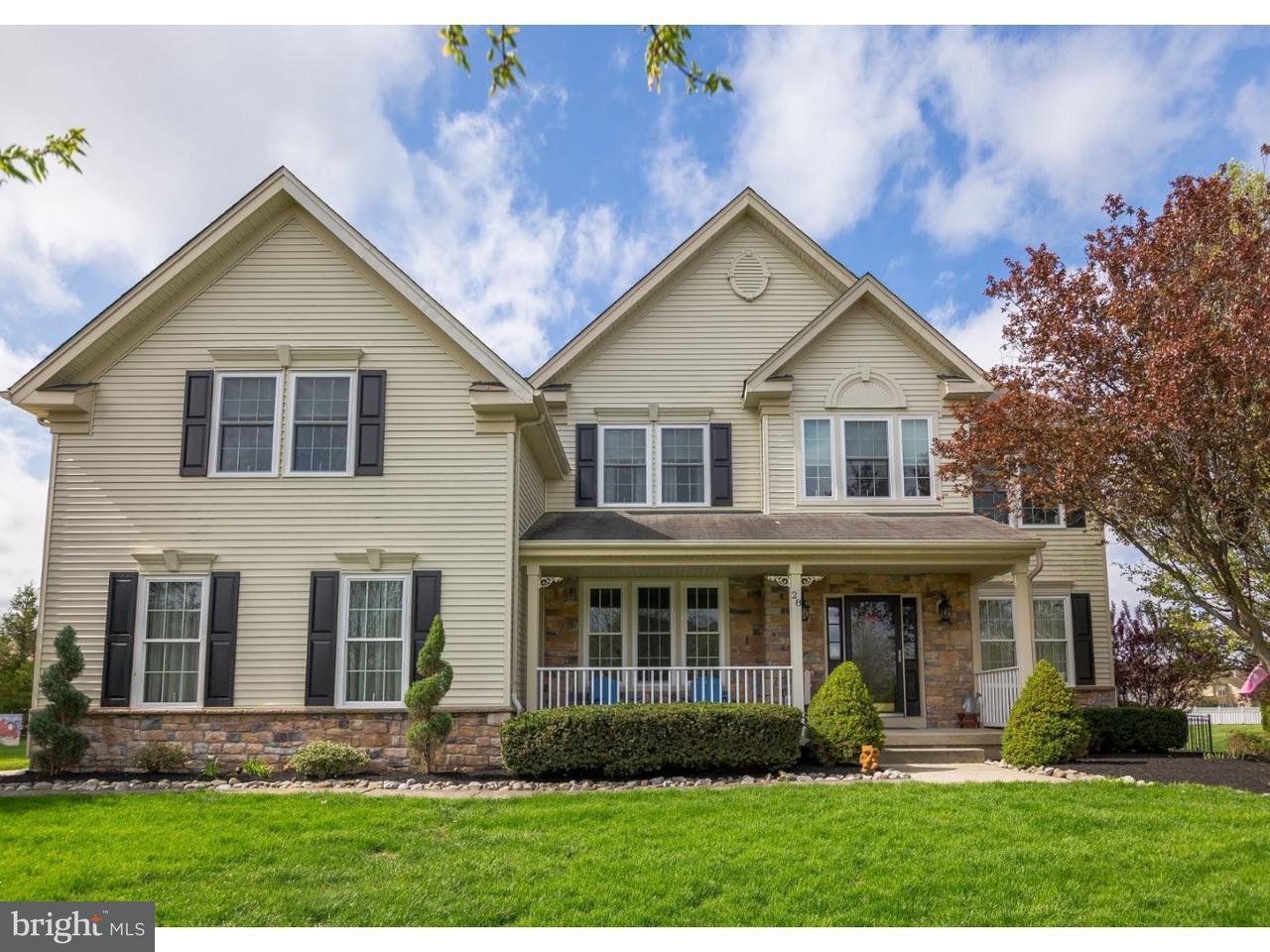 Maison unifamiliale pour l Vente à 28 SHAMROCK Road Lumberton, New Jersey 08048 États-Unis