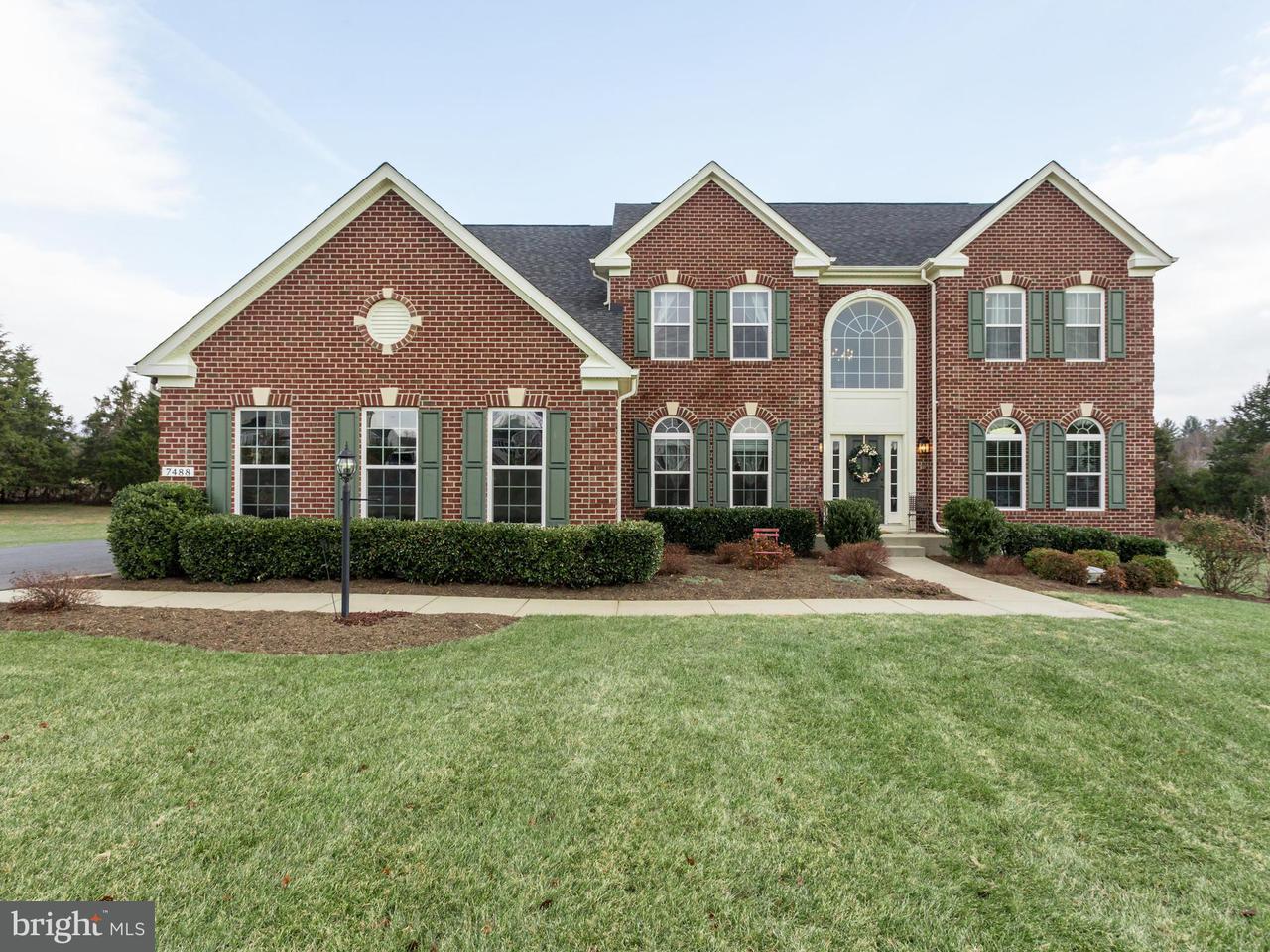 Villa per Vendita alle ore 7488 EDINGTON Drive 7488 EDINGTON Drive Warrenton, Virginia 20187 Stati Uniti