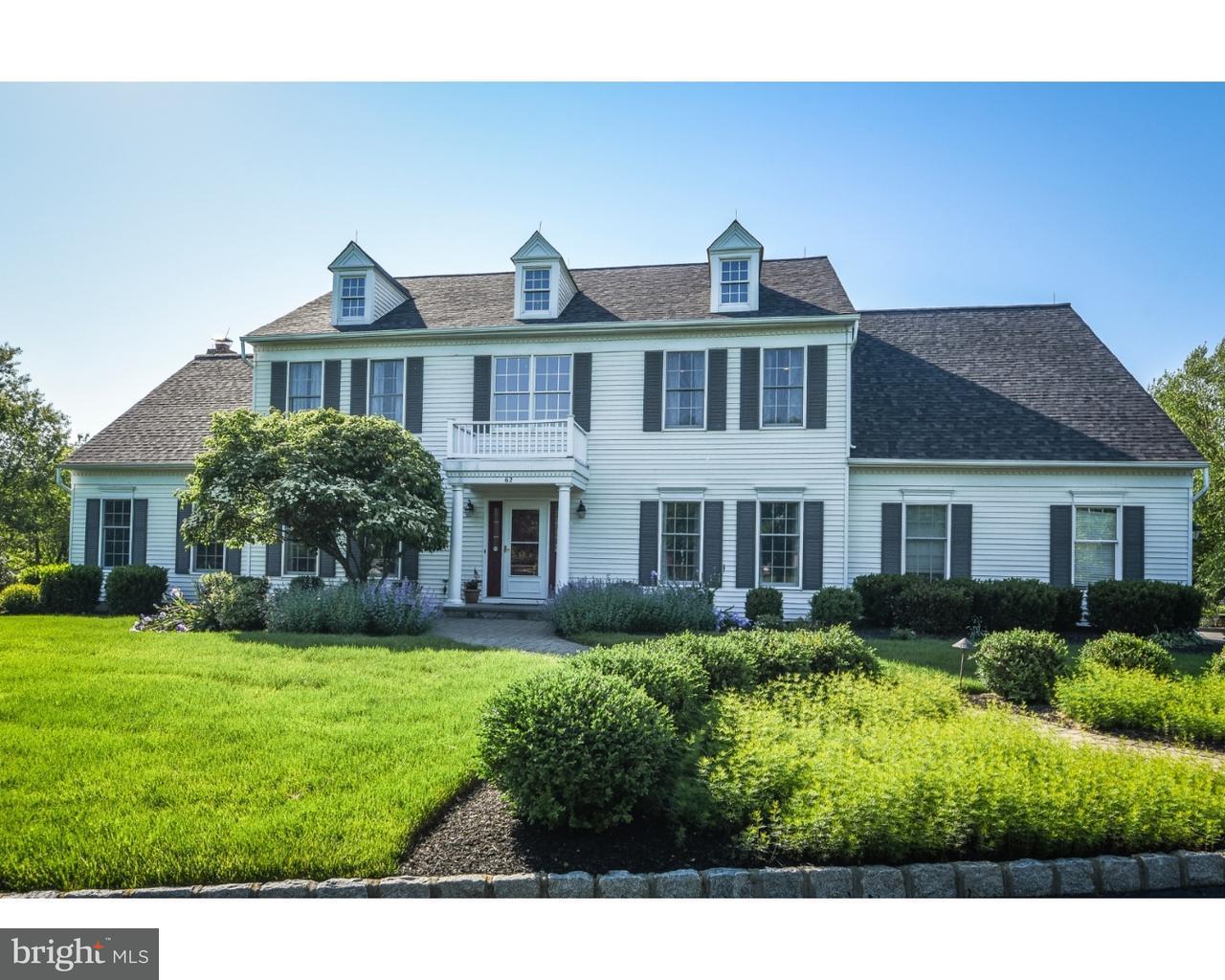 独户住宅 为 销售 在 62 DOYLE Lane Belle Mead, 新泽西州 08502 美国在/周边: Montgomery Township