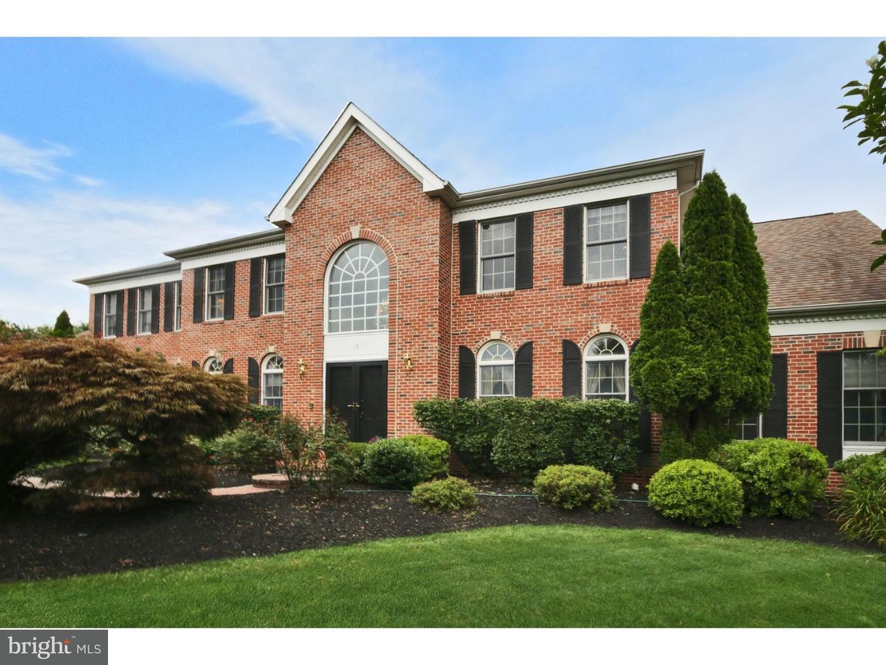 Частный односемейный дом для того Продажа на 15 GREEN MEADOW Road Skillman, Нью-Джерси 08558 Соединенные ШтатыВ/Около: Montgomery Township