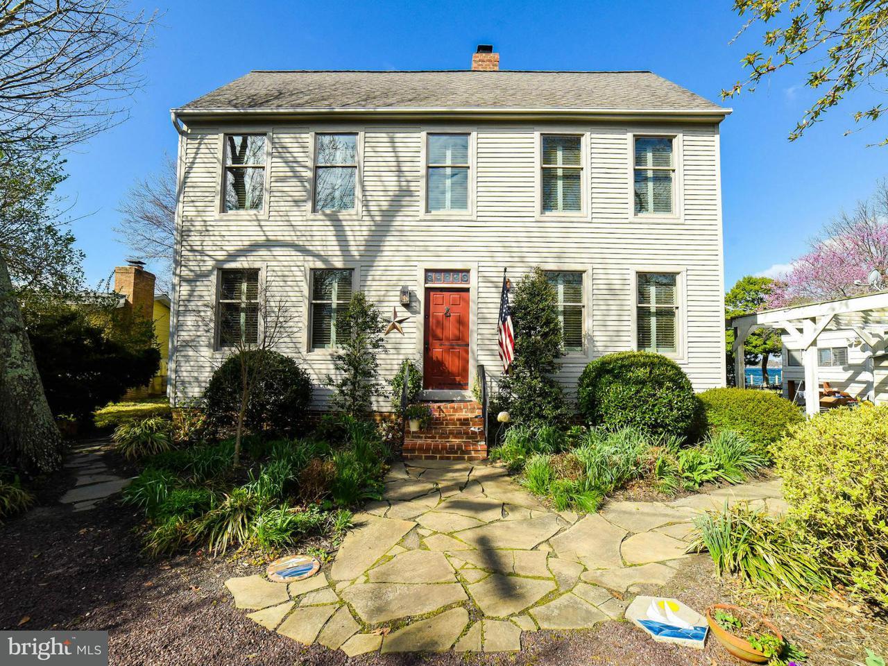 Maison unifamiliale pour l Vente à 14827 PATUXENT Avenue 14827 PATUXENT Avenue Solomons, Maryland 20688 États-Unis