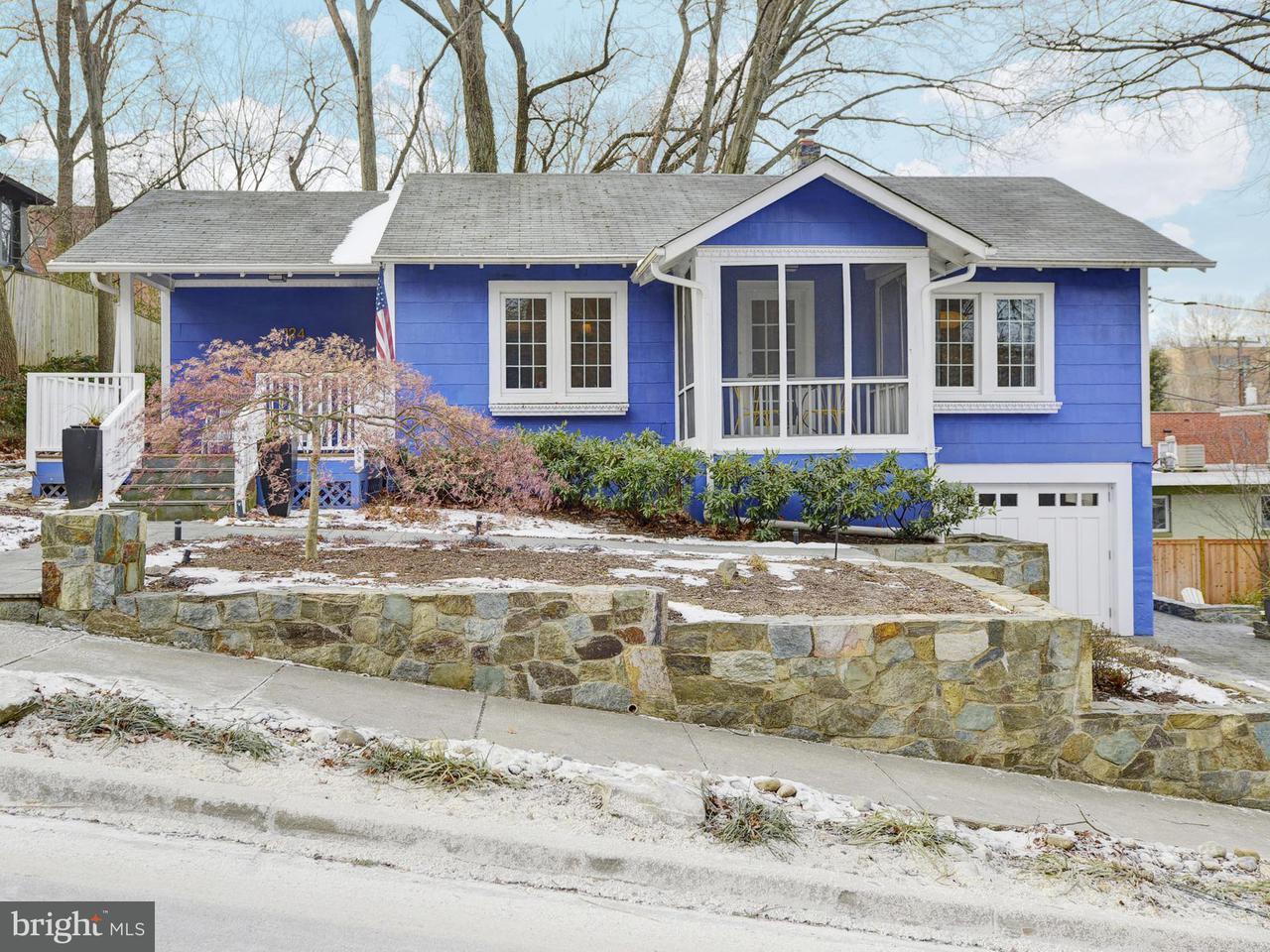 獨棟家庭住宅 為 出售 在 124 SHERMAN Avenue 124 SHERMAN Avenue Takoma Park, 馬里蘭州 20912 美國