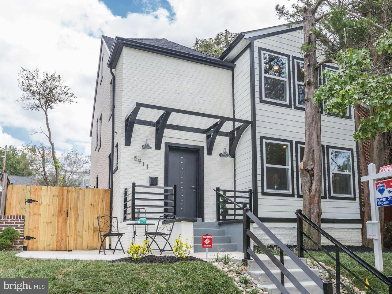 Single Family for Sale at 5911 2nd Pl NW Washington, District Of Columbia 20011 United States