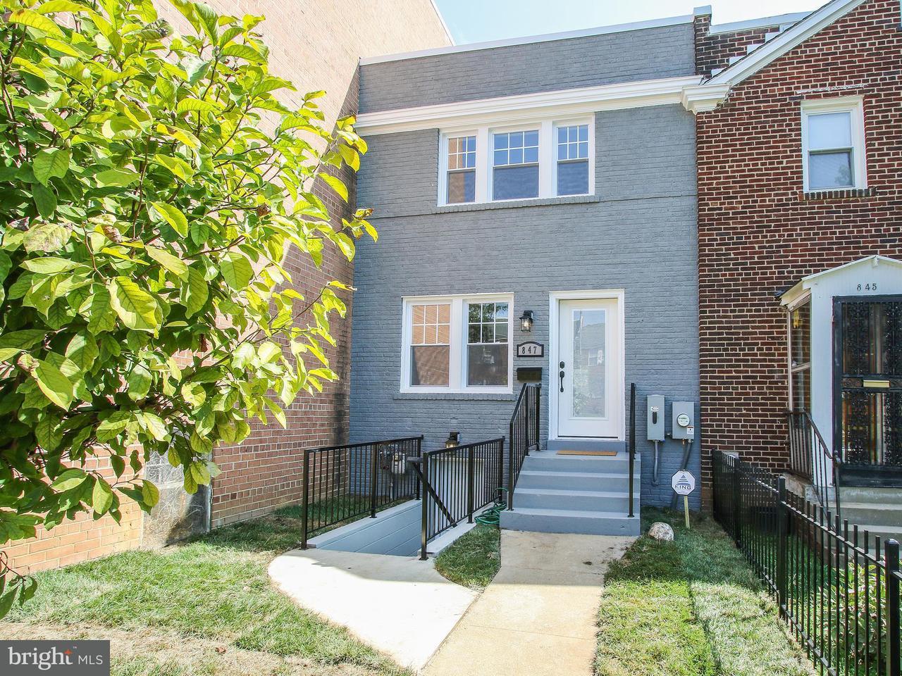 多棟聯建住宅 為 出售 在 847 20TH ST NE 847 20TH ST NE Washington, 哥倫比亞特區 20002 美國