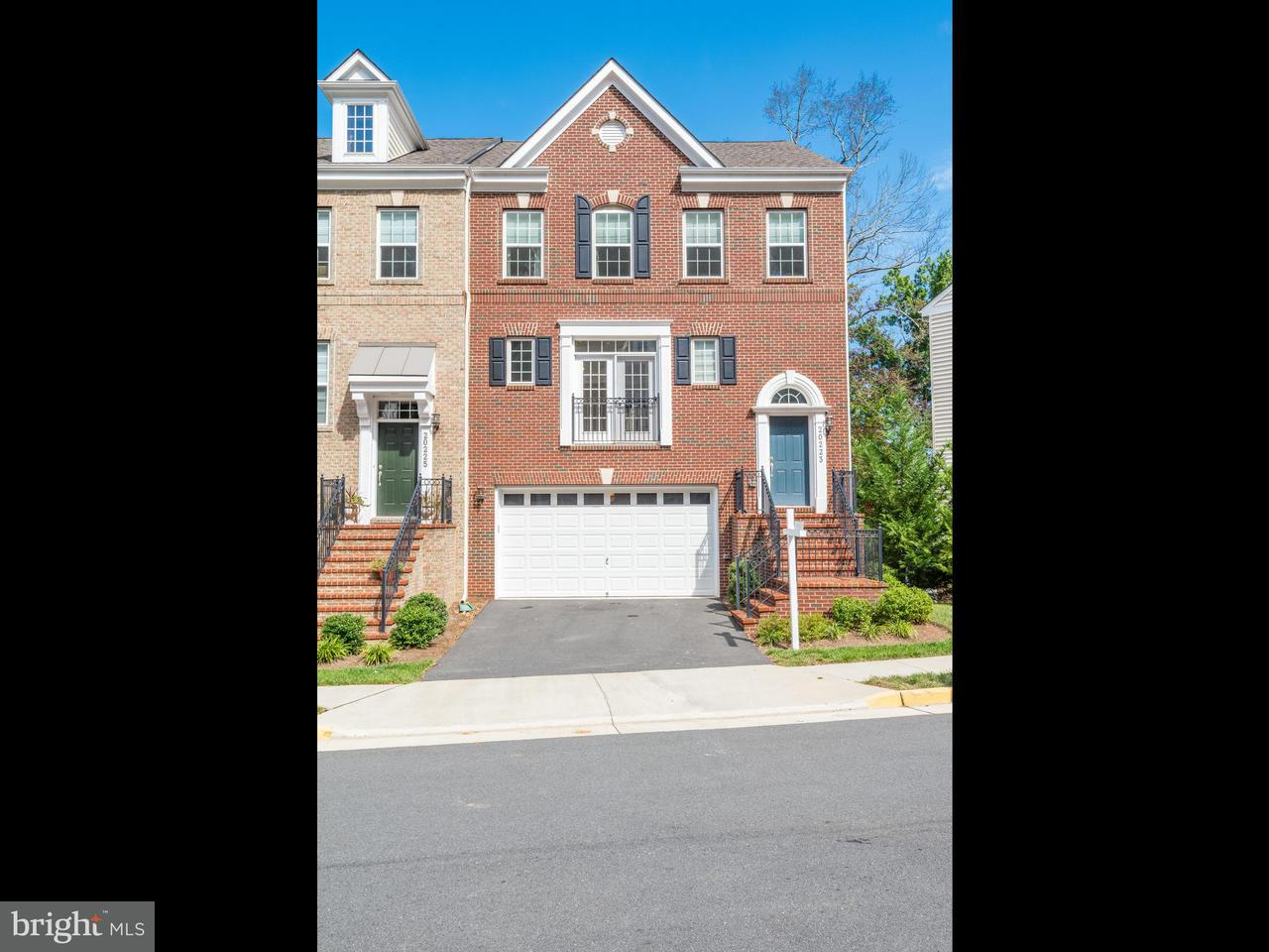 Single Family for Sale at 20223 Center Brook Sq Sterling, Virginia 20165 United States