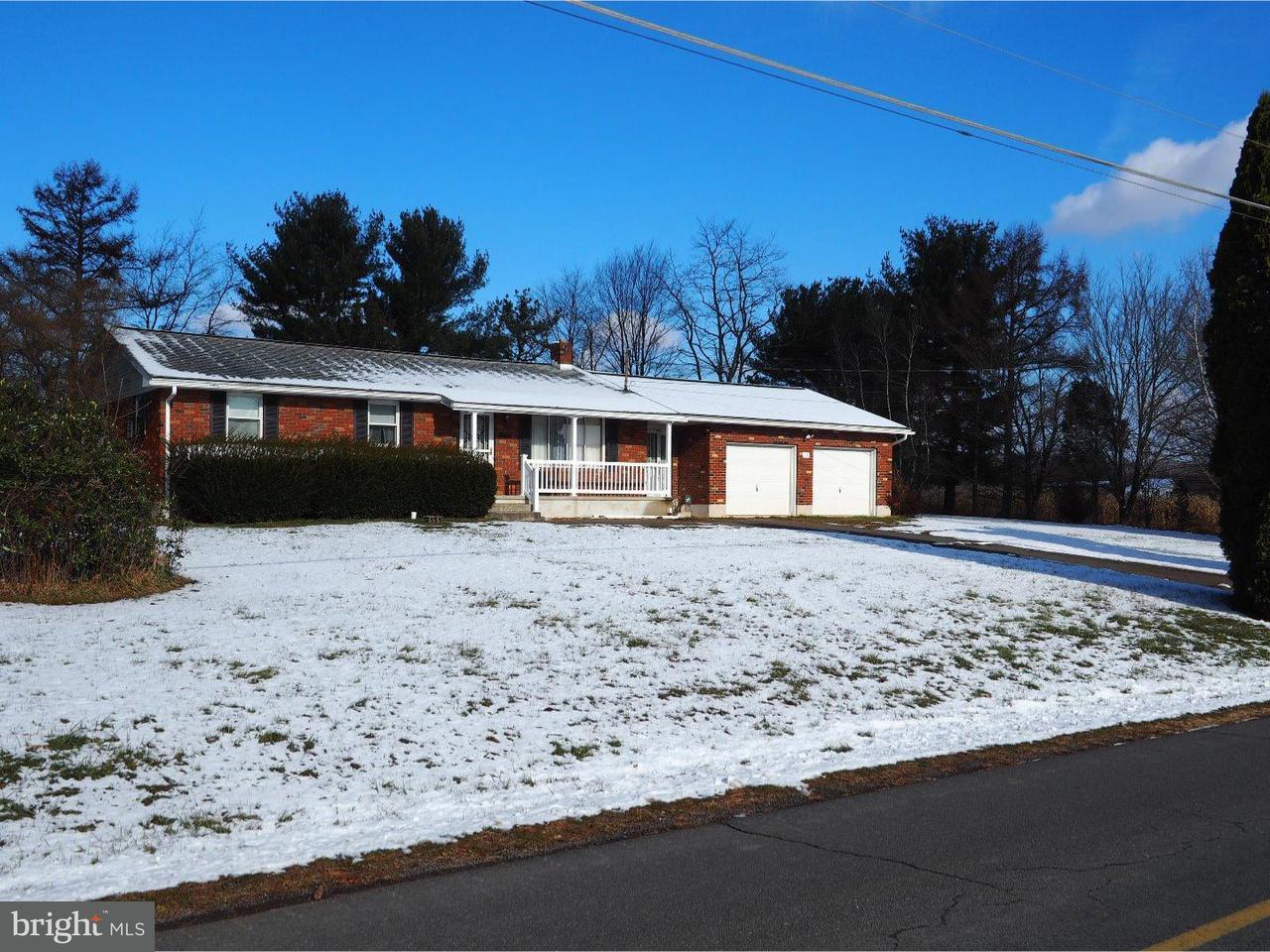 Частный односемейный дом для того Продажа на 581 HECLA Road New Ringgold, Пенсильвания 17960 Соединенные Штаты