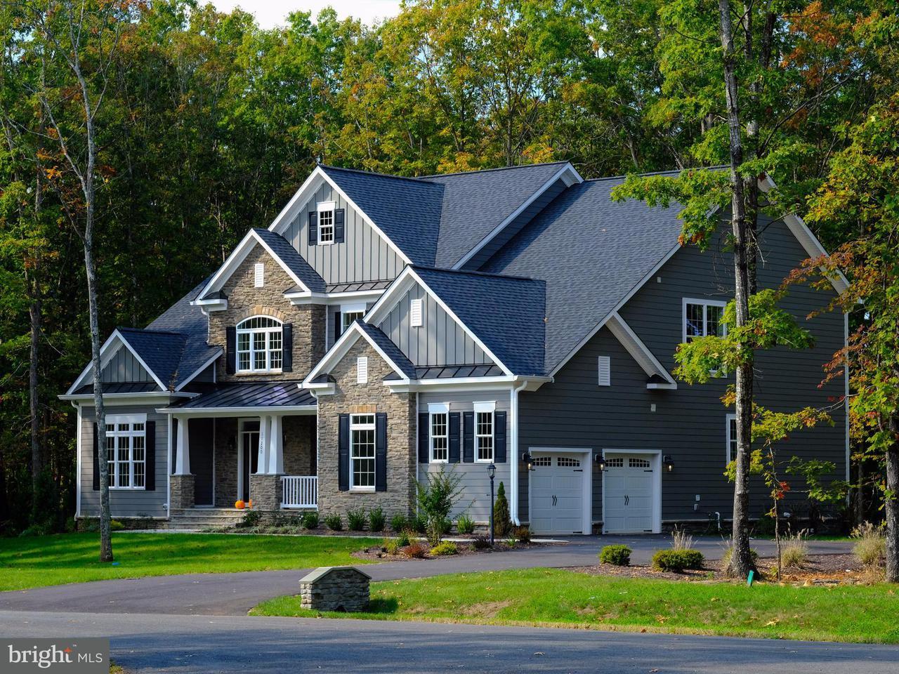 Частный односемейный дом для того Продажа на Lot 17 Downton Avenue Lot 17 Downton Avenue Spotsylvania, Виргиния 22553 Соединенные Штаты